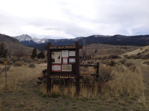 Beattie Gulch Trailhead
