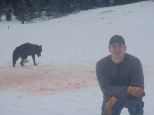 US Forest Service employee Josh Bransford