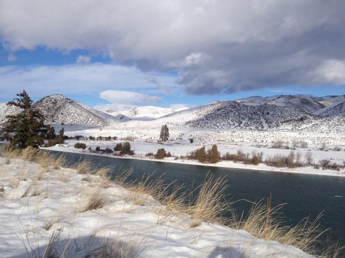 Along the Clark Fork River