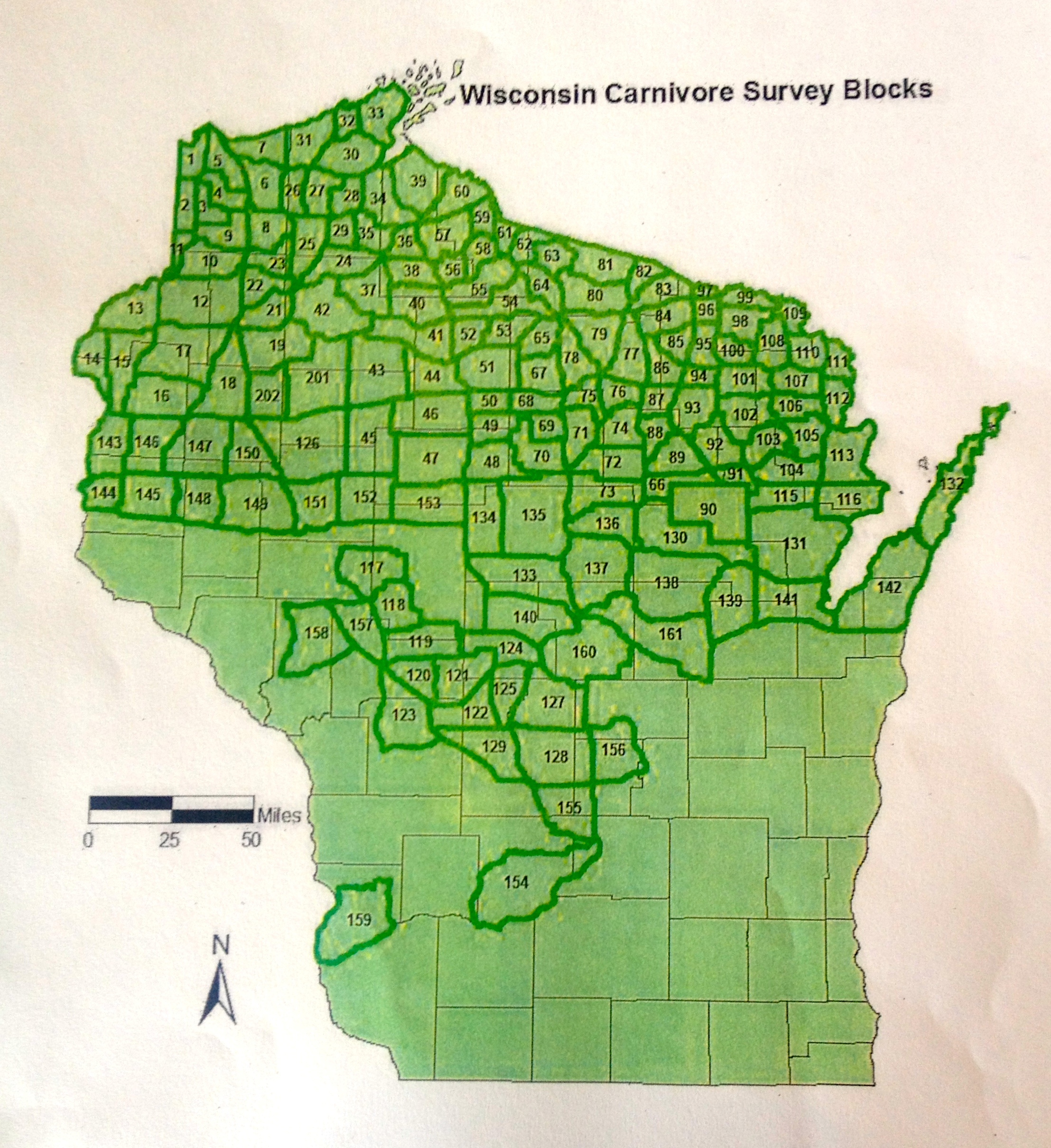 WISCONSIN WOLF UPDATE Wolf Numbers Up Livestock Depredations - Map of us livestock population