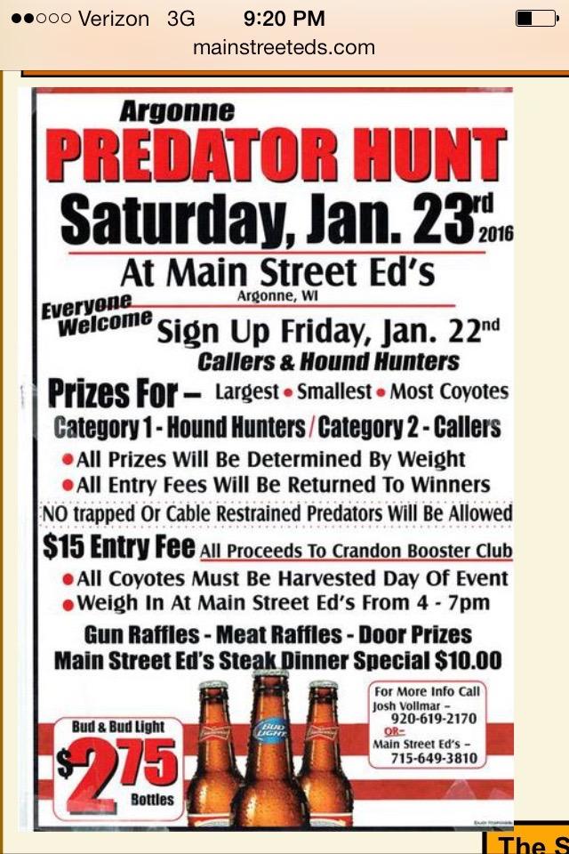 Argonne Hunt Poster