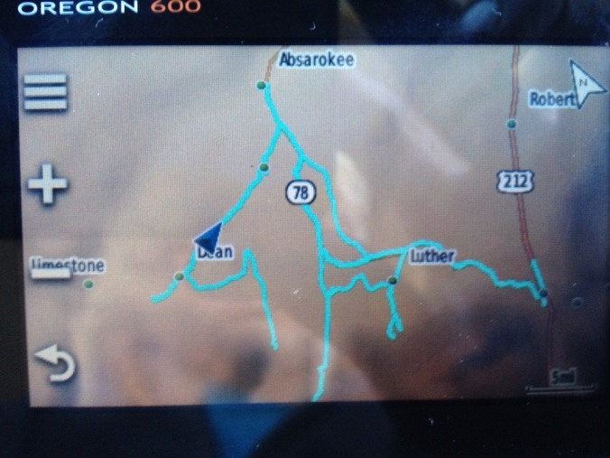 GPS locations