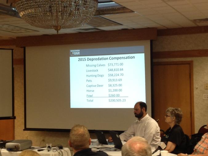 2015 Depredation Compensation DNR