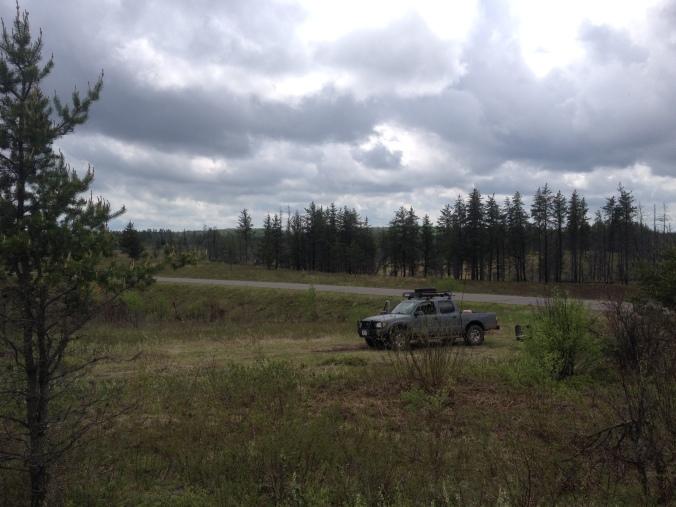WP Truck in Moquah