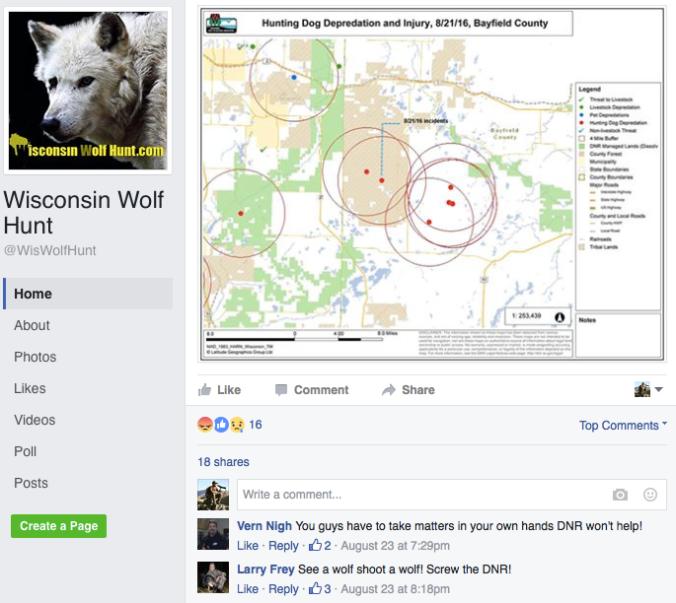 WOLF FB THREATS 2