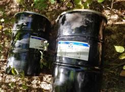 2- 55 gallon drums of bear bait