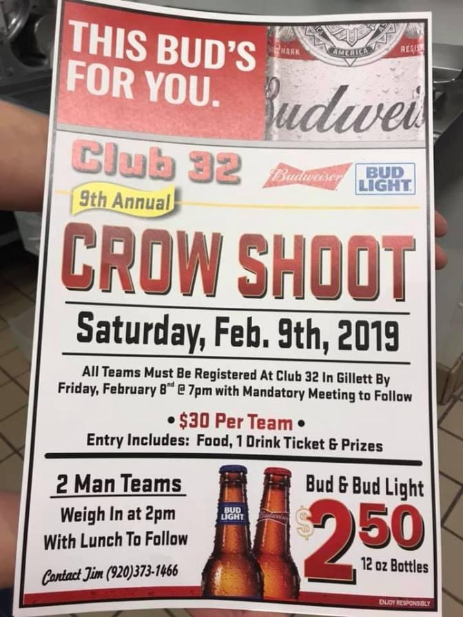 02.09.19 crow shoot