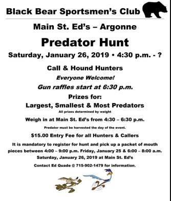 main st eds predator hunt