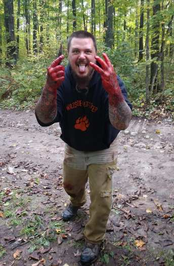 Wisconsin hound hunter and hunting guide Jason Welch who is a contributor to GoFundme created to counter Wolf Patrol