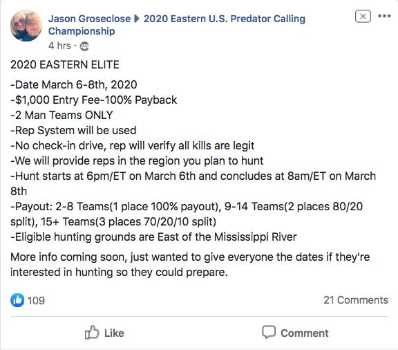 2020 EASTERN ELITE